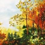 """Креативен комплект за рисуване с маслени бои Oil painting, """"Fruits"""""""