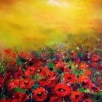 """Креативен комплект за рисуване с маслени бои Oil painting, """"The gifts of autumn"""""""