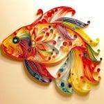 Креативен комплект за квилинг техника Paper filigree  «Autumn rowan»