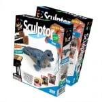 Креативен комплект за моделиране с глина Sculptor «Seal»