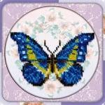 """Креативен комплект за шиене на гоблен с мъниста Beadwork mistresses  """"Dragonfly"""""""