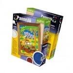 """Креативен комплект рисунка с барелеф и цветен пясък Panneau, """"Jungles"""""""
