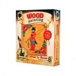 Креативен комплект за рисуване върху дърво Wood painting, «Puss in Boots»