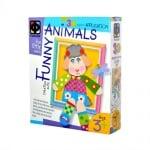 Креативен комплект апликация с рамка №5, Lamb