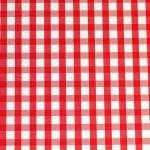 Варио картон, 300 g/m2, 50 x 70 cm, 1л, бял/червен на карета/ромбове