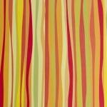Варио картон, 300 g/m2, 50 x 70 cm, 1л, линии в оранжево
