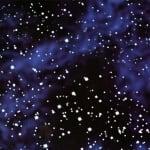 Варио картон, 300 g/m2, 50 x 70 cm, 1л, нощно небе/звездно небе