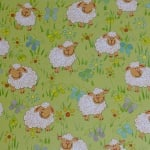 Варио картон, 300 g/m2, 50 x 70 cm, 1л, овчици на полянка