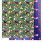 Варио картон, 300 g/m2, 50 x 70 cm, 1л, Празникът на чорапчетата