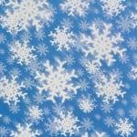 Варио картон, 300 g/m2, 50 x 70 cm, 1л, преспи/ снежинки