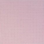 Варио картон, 300 g/m2, 50 x 70 cm, 1л, розов райета/точки