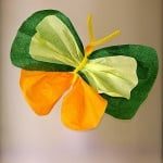 Креп хартия, 38 g/m2, 50 cm x 10 m, 1 ролка, зелена ябълка