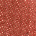 Хартия памучна, 100 g/m2, 50 x 70 cm, 1л, червена с метални зл.точки