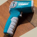 Термометър инфрачервен TOTAL, +550°C